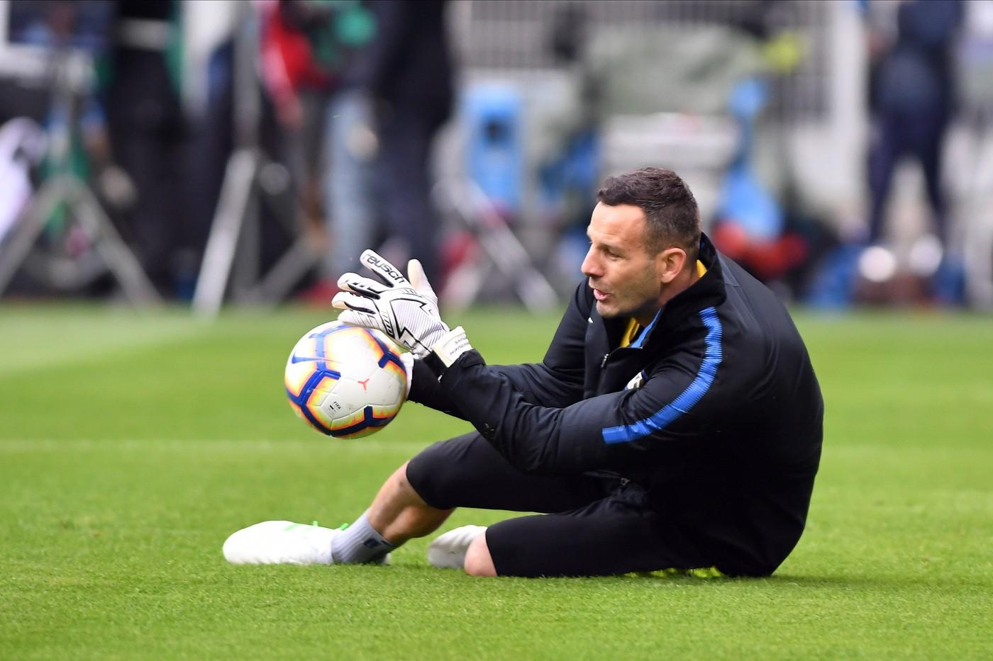 Handanovic (Foto Claudio Grassi/LaPresse)