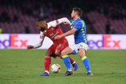 "Napoli-Arsenal, Mertens: ""i tifosi devono capire che stiamo facendo bene"""