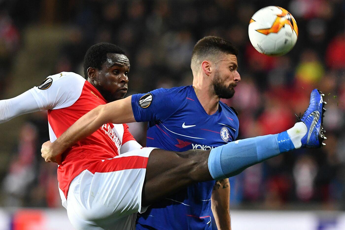 Giroud (Foto AFP/LaPresse)