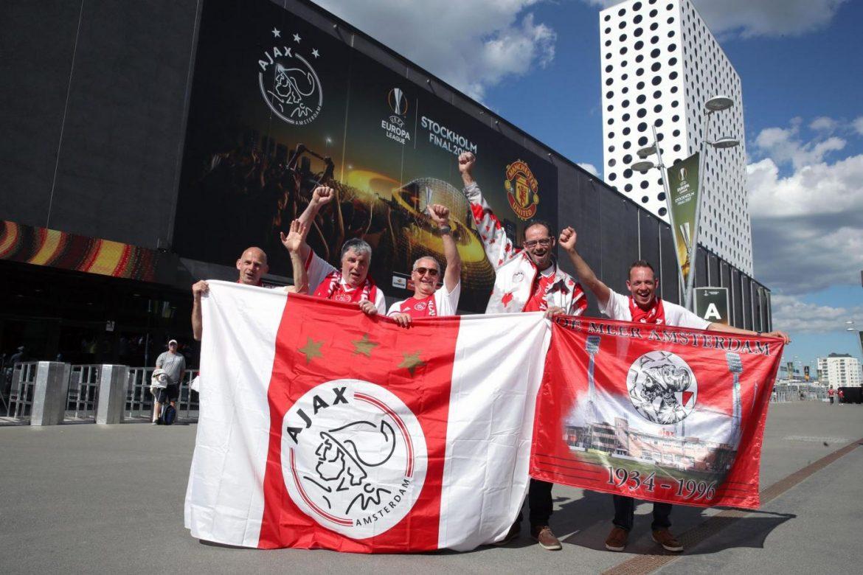 no trasferta tifosi Ajax