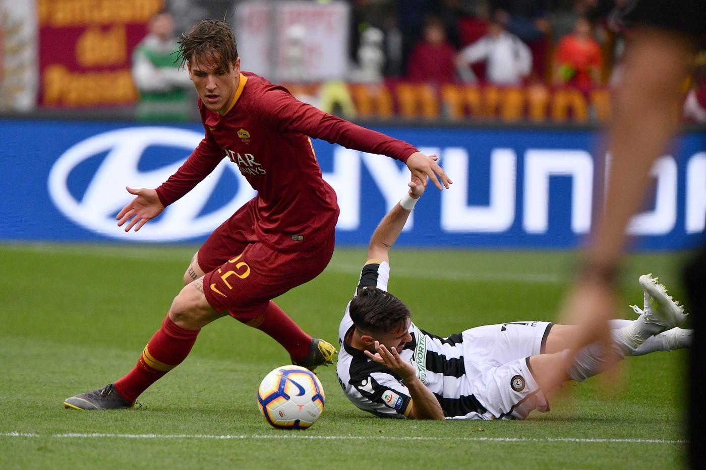 Zaniolo (Luciano Rossi/AS Roma/LaPresse)