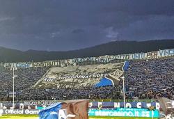 Atalanta Fiorentina, spettacolo incredibile sugli spalti poi
