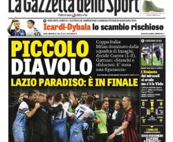 """La rassegna stampa di venerdì 25 aprile: """"Icardi Dybala, lo"""