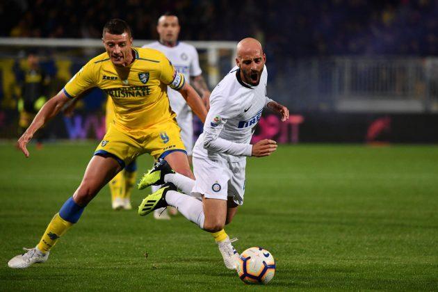 Frosinone Inter pagelle