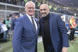 """Inter Roma, Ranieri: """"giochiamo da squadra, siamo compatti e"""
