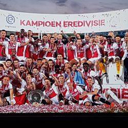 L'Ajax è campione d'Olanda |  34° titolo per i Lancieri FOTO E VIDEO
