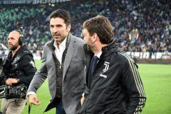 """Allenatore Juventus, Buffon: """"Sarri è un'altra storia…"""""""