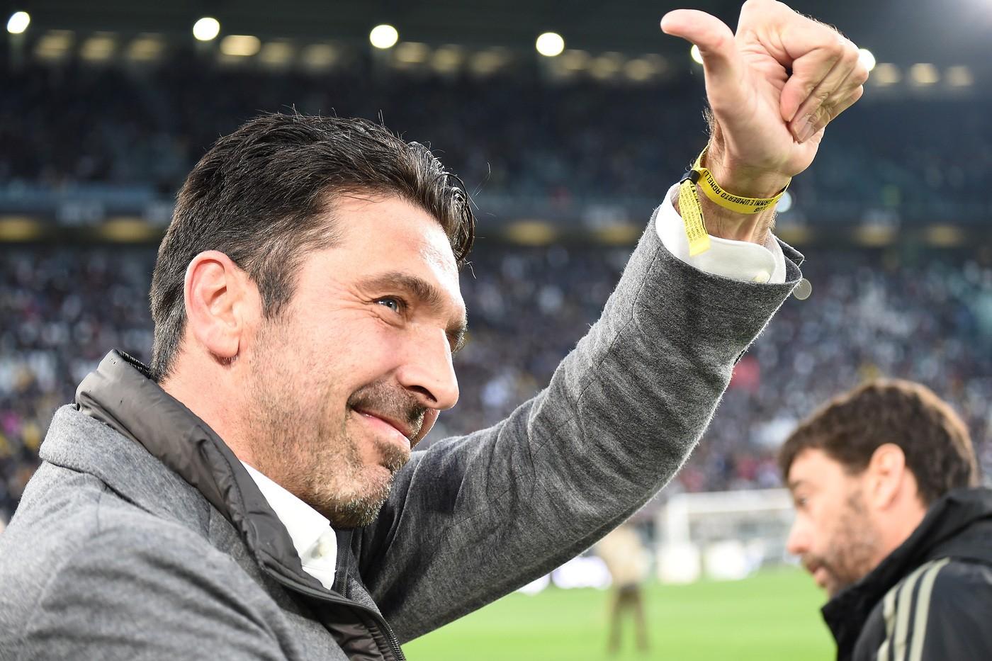 Buffon (Foto LaPresse - Tano)