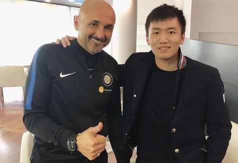 Zhang saluta Spalletti