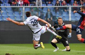 Genoa Cagliari pagelle