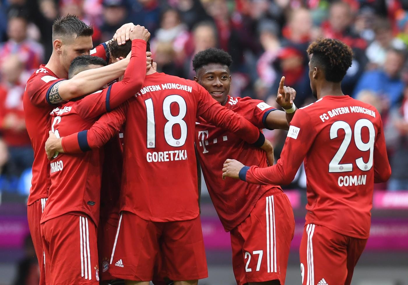 Il Bayern Monaco vince la Coppa di Germania: netto 3-0 ...
