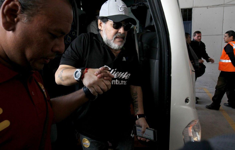 Maradona lascia Dorados