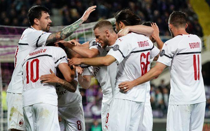 Milan Atalanta in contemporanea