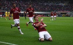 Milan Frosinone 2 0, i rossoneri vincono col brivido: ora at