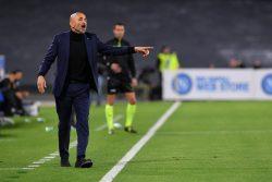 """Napoli Inter, Spalletti: """"Abbiamo perso male, ma siamo padro"""