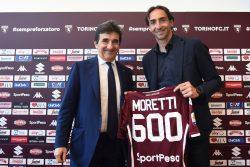 Torino-Lazio, striscione da brividi per l'addio di Moretti