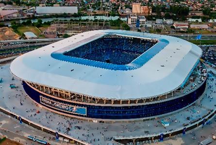 Arena do Grêmio (Capienza: 55.662)