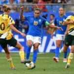 Australia-Brasile femminile