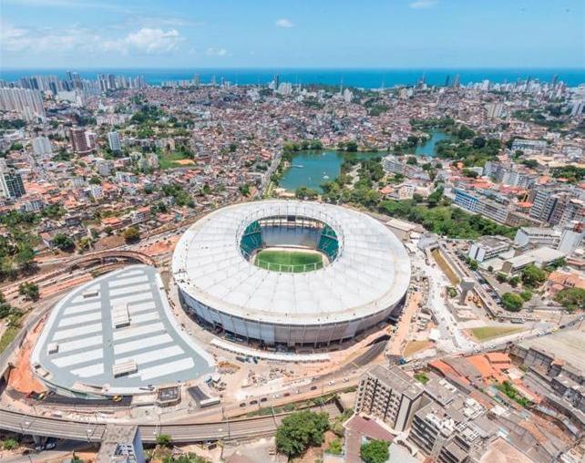 Itaipava Arena Fonte Nova (Capienza: 51.900)