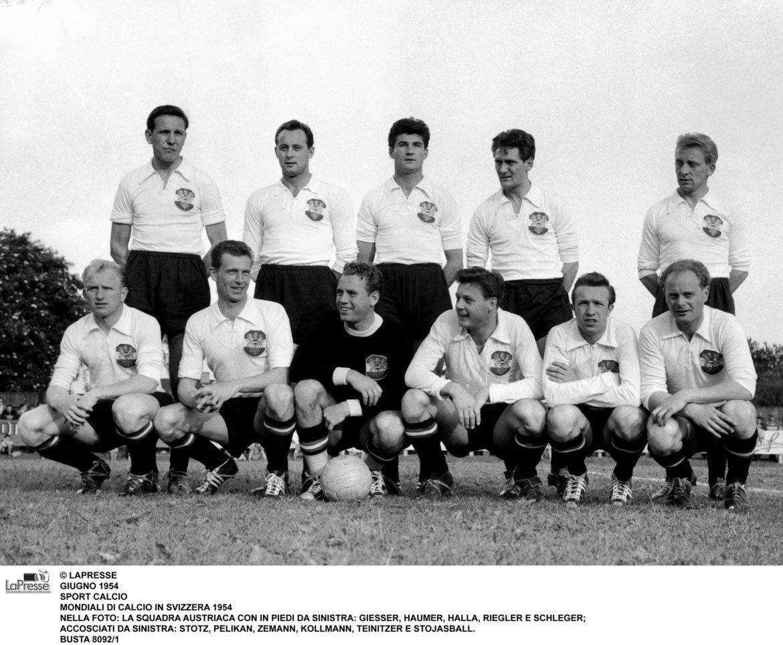 Austria-Svizzera 1954