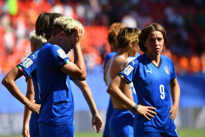 reazione eliminazione Italia