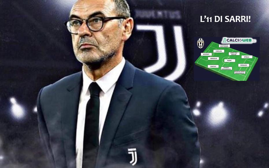 La Juventus di Sarri