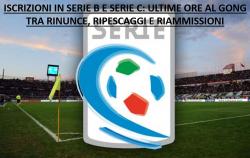 Iscrizioni Serie B e Serie C, mancano ancora domande: le rin