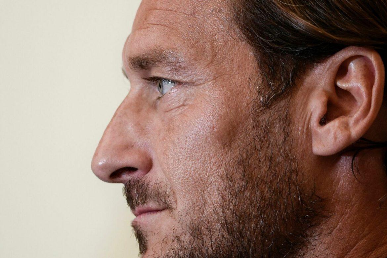 Conferenza stampa Totti