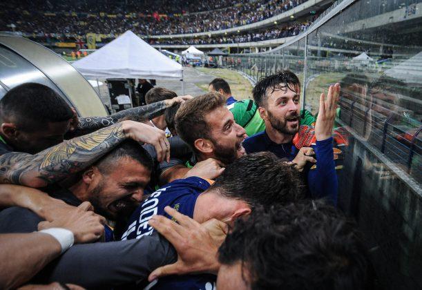 Cori tifosi Verona