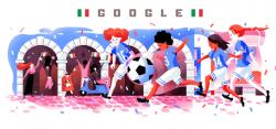 Mondiale femminile, nuovi doodle dedicati alla competizione: