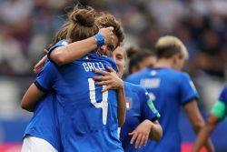 """L'Italia vola dopo il gol di Galli, il coro è da impazzire: """"siam venuti fin qua per vedere segnare Iaia"""""""
