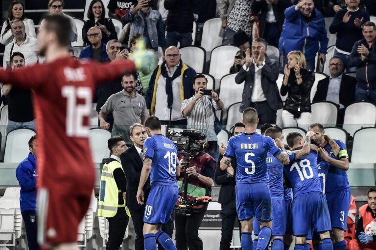 Italia i meriti di Mancini