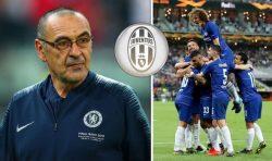 Sarri alla Juventus, il messaggio d'addio del Chelsea