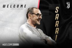 Juventus, giovedì la conferenza di presentazione di Sarri