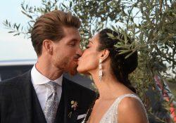 Sergio Ramos e Pilar Rubio: matrimonio 'galactico' [FOTO]