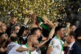 Coppa d'Africa |  la festa dell'Algeria |  Bennacer miglior giocatore |  delirio in campo FOTO