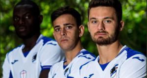 Sampdoria, lo spettacolo della divisa da trasferta: presenta