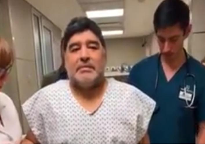 riabilitazione Maradona