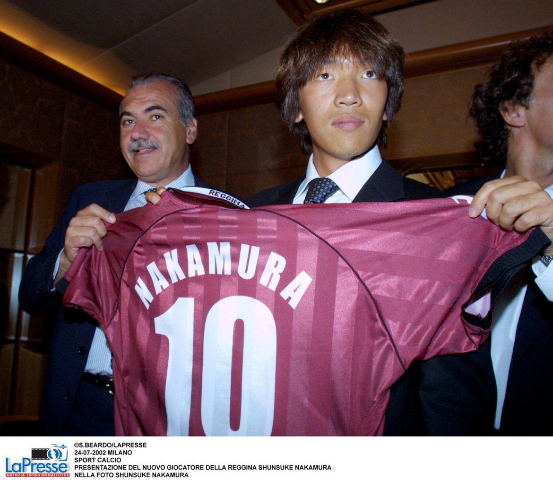 nuova squadra Nakamura