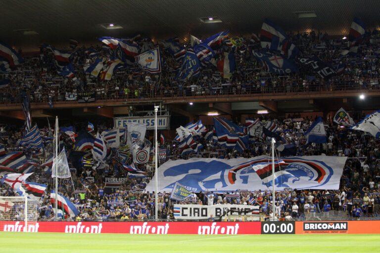 contestazione tifosi Sampdoria