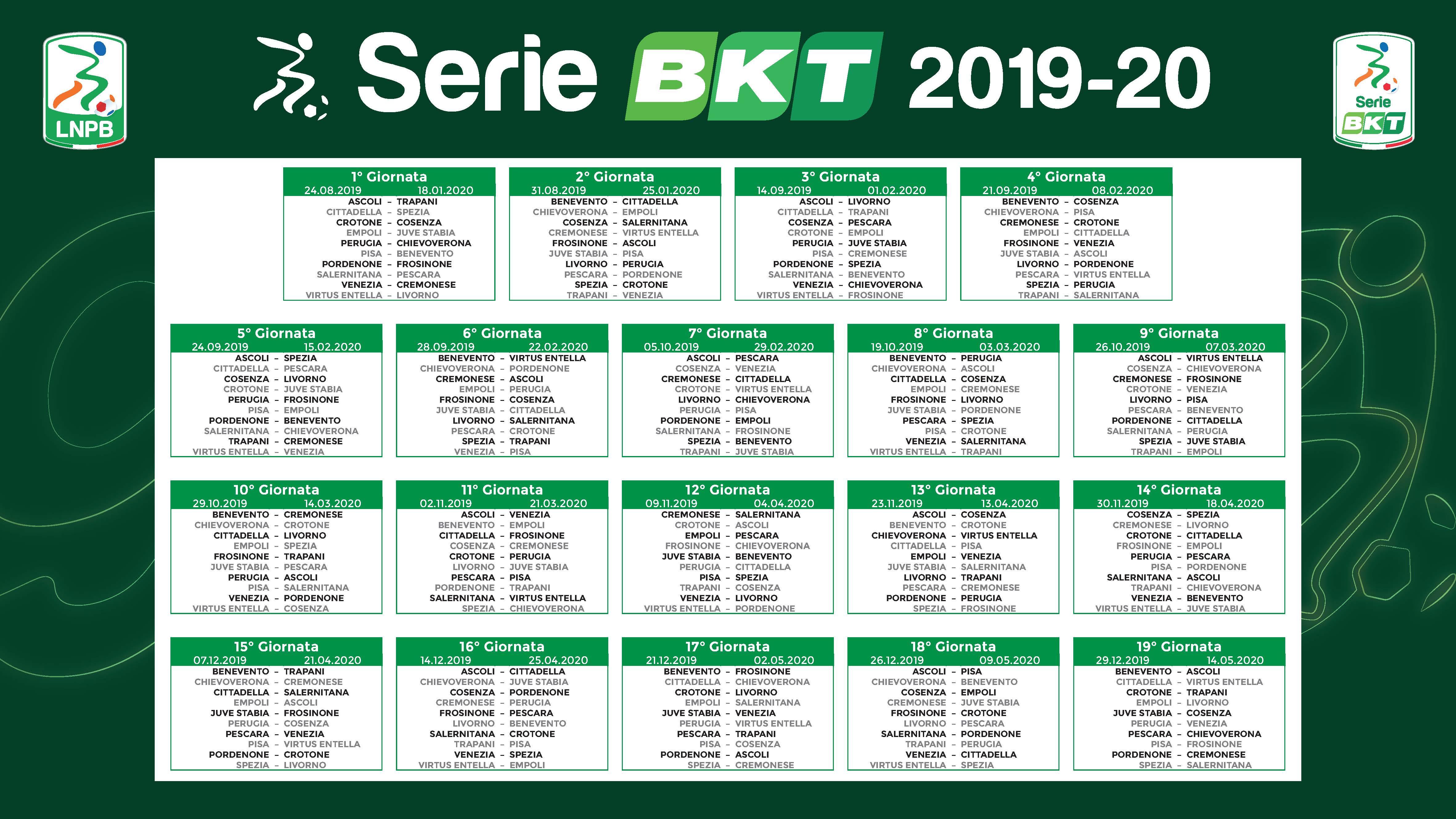Yves Rocher Calendario Avvento 2020.Calendario Serie B Perugia Calendario 2020