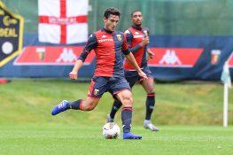 Infortunio Cassata, il centrocampista del Genoa si ferma anc