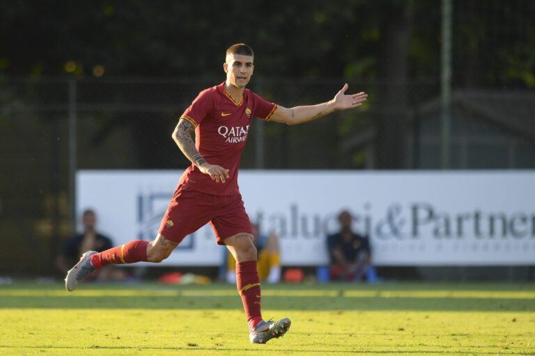 Mancini (Foto LaPresse/AS Roma/Fabio Rossi)