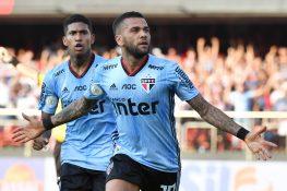San Paolo, debutto con gol vittoria per Dani Alves: 1 0 al C