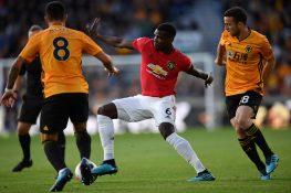 Wolverhampton Manchester United 1 1, Pogba sbaglia un rigore