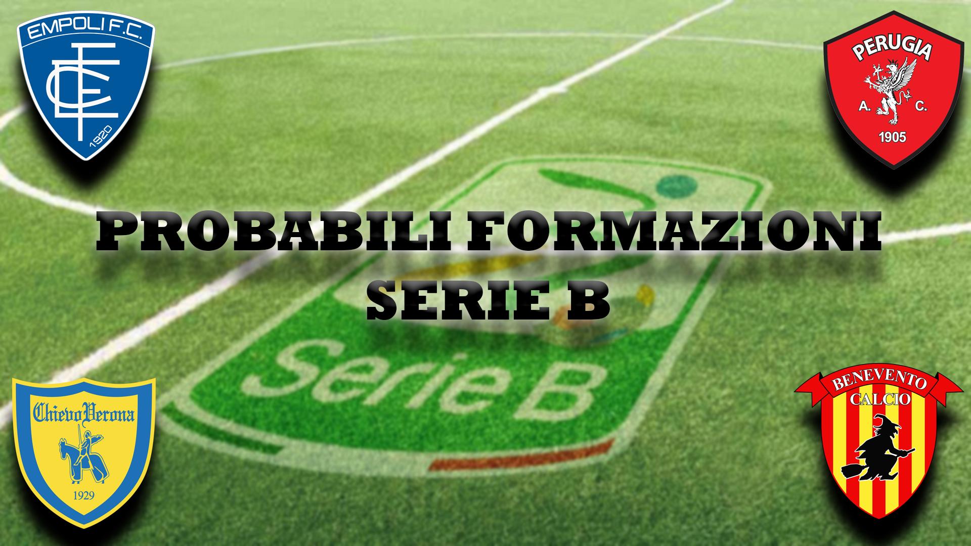 Probabili Formazioni Serie B I Possibili Schieramenti Della 7 Giornata