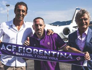 """Fiorentina, Ribery in città: """"ho parlato con Luca Toni…"""", ti"""