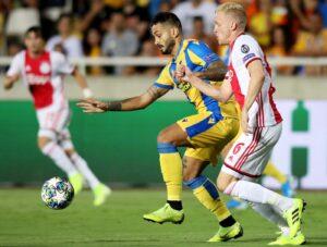 Risultati Champions League, l'Olympiacos passeggia sul Krasn