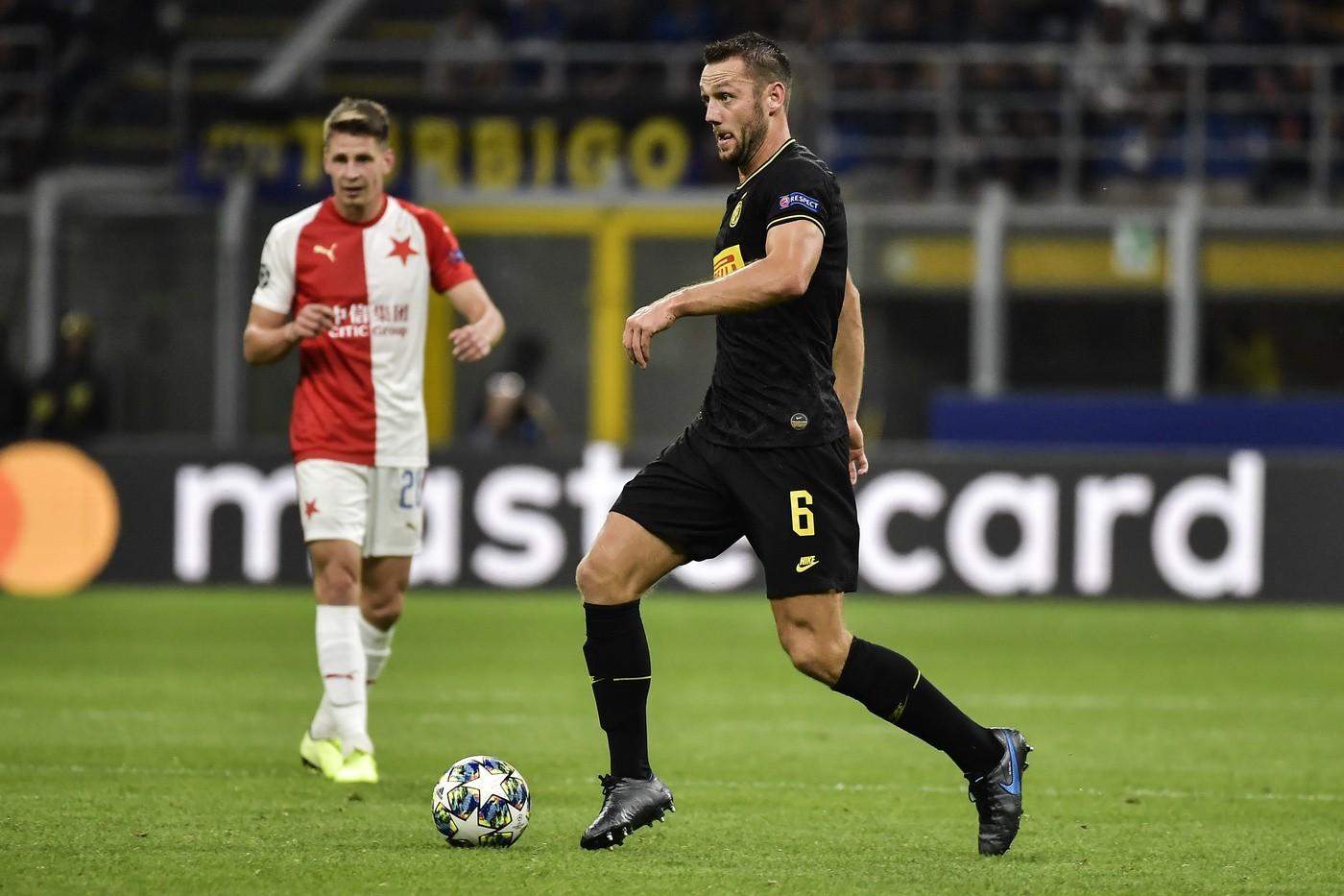 Inter, Lukaku contro Brozovich nel post Slavia Praga