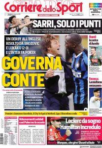 """La rassegna stampa di domenica 22 settembre: """"Governa Conte"""""""